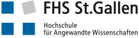 Logo and link for FHS St.Gallen